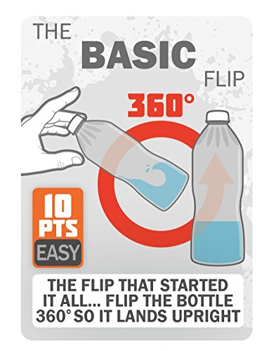 FLIP TRICKS - Bottle Flip Challenge Game by Buffalo Games