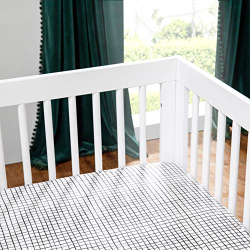 51NmdFppfZL - Babyletto Hudson 3-in-1 Convertible Crib With Toddler Bed Conversion Kit In White, Greenguard Gold Certified