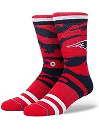 M558C17PTI Men's Patriots Tigerstripe Socks