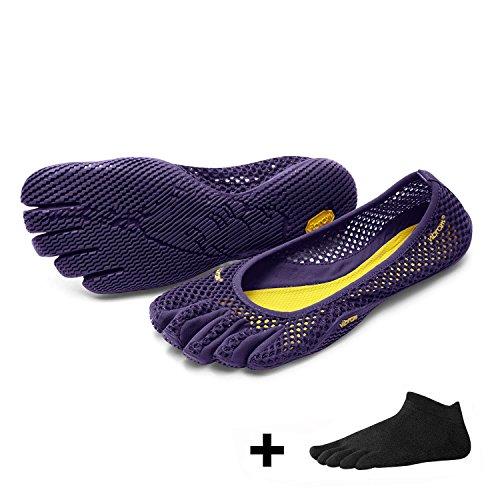 VI à de orteils femme FiveFingers B Prune Chaussures loisirs pour Vibram 5RAFIqn