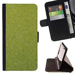 BullDog Case - FOR/HTC One M8 / - / Texture Green /- Monedero de cuero de la PU Llevar cubierta de la caja con el ID Credit Card Slots Flip funda de cuer