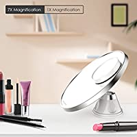 Spaire 7X Magnifying Makeup Mirror & Shaving Mirror