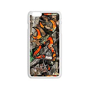 Browning White iPhone 4 4s case