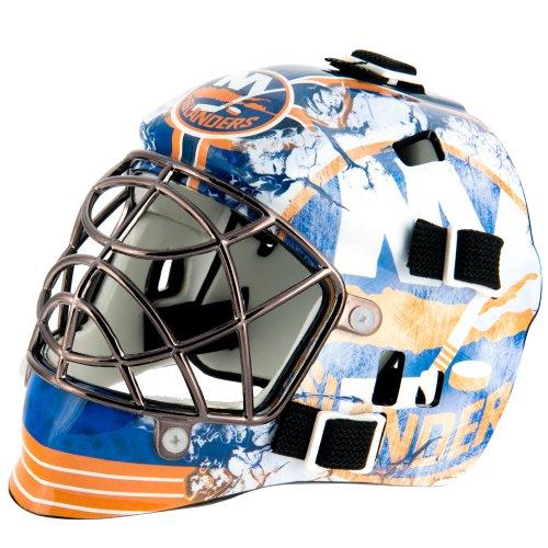 fan products of Franklin Sports NHL League Logo New York Islanders Mini Goalie Mask