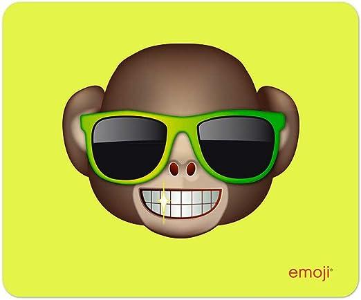 Emoji - Alfombrilla mono con gafas de sol: Amazon.es: Oficina ...