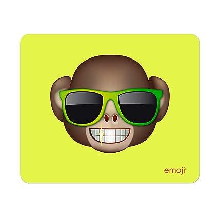 Emoji - Alfombrilla mono con gafas de sol: Amazon.es ...