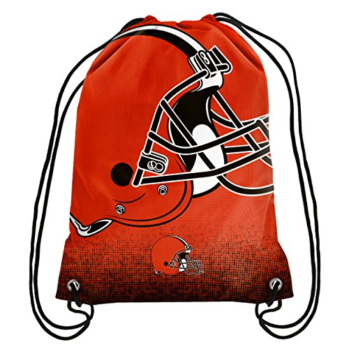 NFL Football Team Logo Drawstring Backpack Bag - Pick Team (Cleveland (Team Logo Drawstring Backpack)