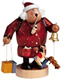 KWO Santa with Bell and Toys German Smoker 21511