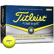 Titleist 2014 Nxt Tour S Yellow Golf Balls 12-Ball Pack
