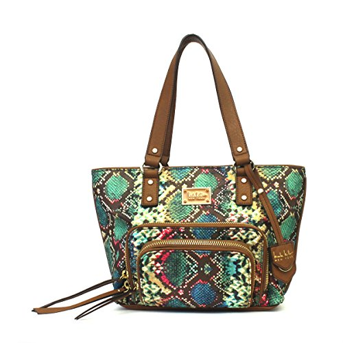 nicole-miller-double-take-medium-tote-python-sand