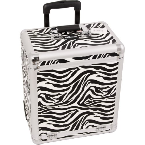 Sunrise Ariosto Heavy Duty Rolling Makeup Case Professional