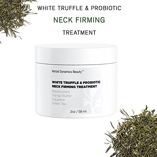 HD Beauty White Truffle + Probiotic Neck Firming Treatment with Blackcurrant, Mango Butter, Squalane, and Green Tea for Firming Sagging Skin and Smoothing Fine Lines and Wrinkles, 2 - Radical Anti Defense Age