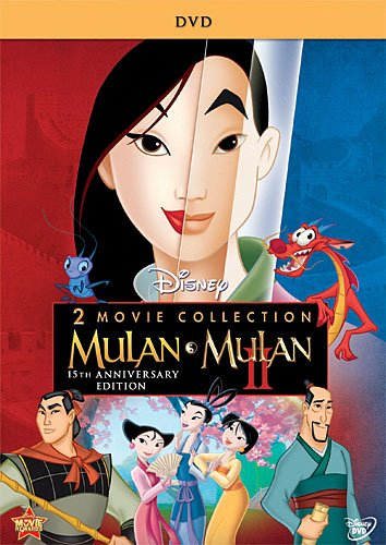 DVD : Mulan / Mulan II: 2-Movie Collection (Dolby, AC-3, , Widescreen, 2 Pack)