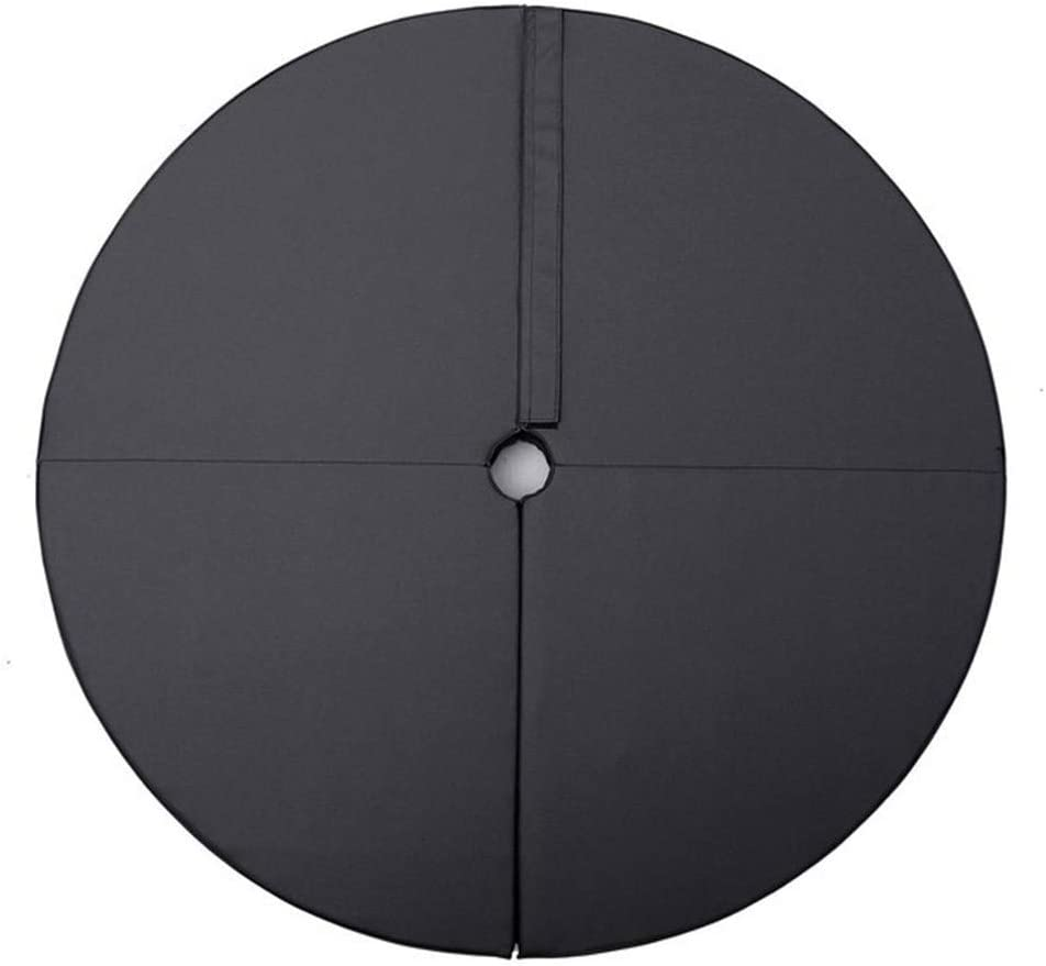 WanXingY in Room PU Pole Dance Mat Skid-Proof Fitness Yoga Mats Waterproof Thickened Round Dance Exercise Mat Folding Safety Gym Mat (Color : Black)