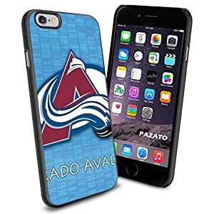 diy zhengNHL HOCKEY Colorado Avalanche Logo, Cool Ipod Touch 4 4th Smartphone Case Cover Collector iphone TPU Rubber Case Black