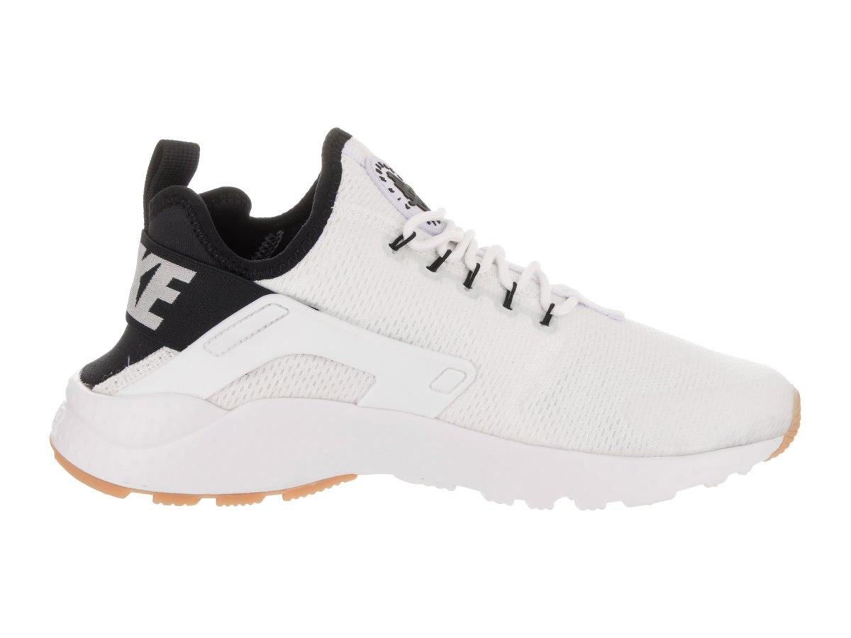 NIKE Womens Air Huarache Run Ultra White/Black/Gum Yellow/White Running Shoe 10 Women US