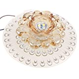 Modern 18cm 9w LED Crystal Ceiling Light Aisle Corridor Light (White)