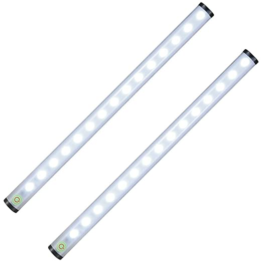 Tradinno under cabinet light thin dimmable touch sensor 15 led tradinno under cabinet light thin dimmable touch sensor 15 led light bar kitchen cupboard closet aloadofball Images