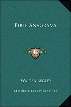 Bible Anagrams