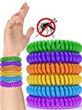 12 Pack Mosquito Repellent Bracelet Band - [320Hrs] of Premium Pest Control Insect Bug Repeller - Natural Indoor/Outdoor Insects - Best Products with NO Spray for Men, Women, Kids Children