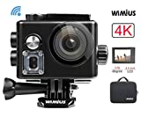 WiMiUS Action Camera, Sports Camera 4K WiFi Ultra HD...