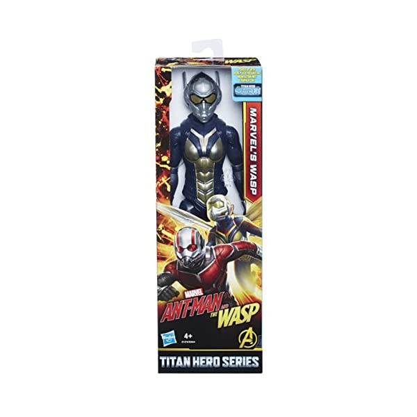 51NmjorJg L Marvel Ant-Man and The Wasp Titan Hero Series Marvel's Wasp with Titan Hero Power FX Port