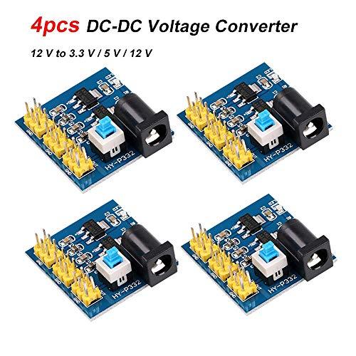 Voltage Converter Multi-Output Power Supply Module 12 V to 3.3 V / 5 V / 12 V Converter Step Down Module for Arduino ()