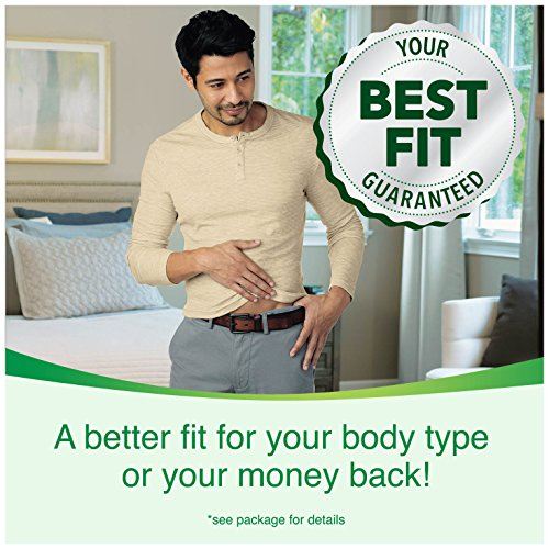 Depend FIT-FLEX Incontinence Underwear for Men, Maximum Absorbency, S/M, Gray, 60 Count by Depend (Image #2)