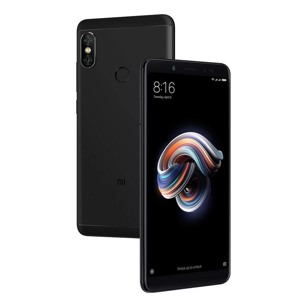 Xiaomi Redmi Note 5 64GB Black, Dual Sim, 4GB RAM, 5.99