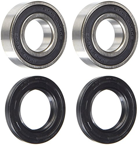 New Pivot Works Wheel Bearing Kit PWFWS-S05-000 For Suzuki DL 1000 V-Strom 2014-2016, GSX 1300 BK B-King 2008-2009, GSX 1300 R Hayabusa 1999-2016, GSX 1400 2002-2007, GSX-R 1000 2001-2016, M109R 2017 ()