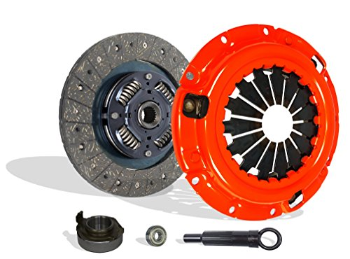 Clutch Kit Works With Mazda B2200 B2000 Mx-6 626 Capri XR2 BASE LE-5 SE-5 DX LX 2.0L l4 2.2L l4 GAS SOHC Naturally Aspirated 1.6L l4 GAS DOHC Turbocharged (Stage 1) -
