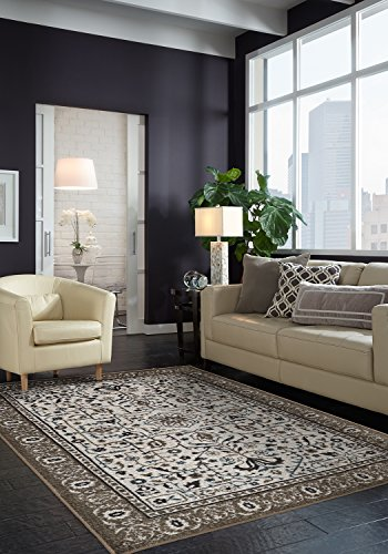 Mohawk Home Aurora Colorful Persian Oak Rug, 5'x8'- Family Room Ideas - Make quick & easy changes to any room in your home in minutes by changing the rug - add color & patterns