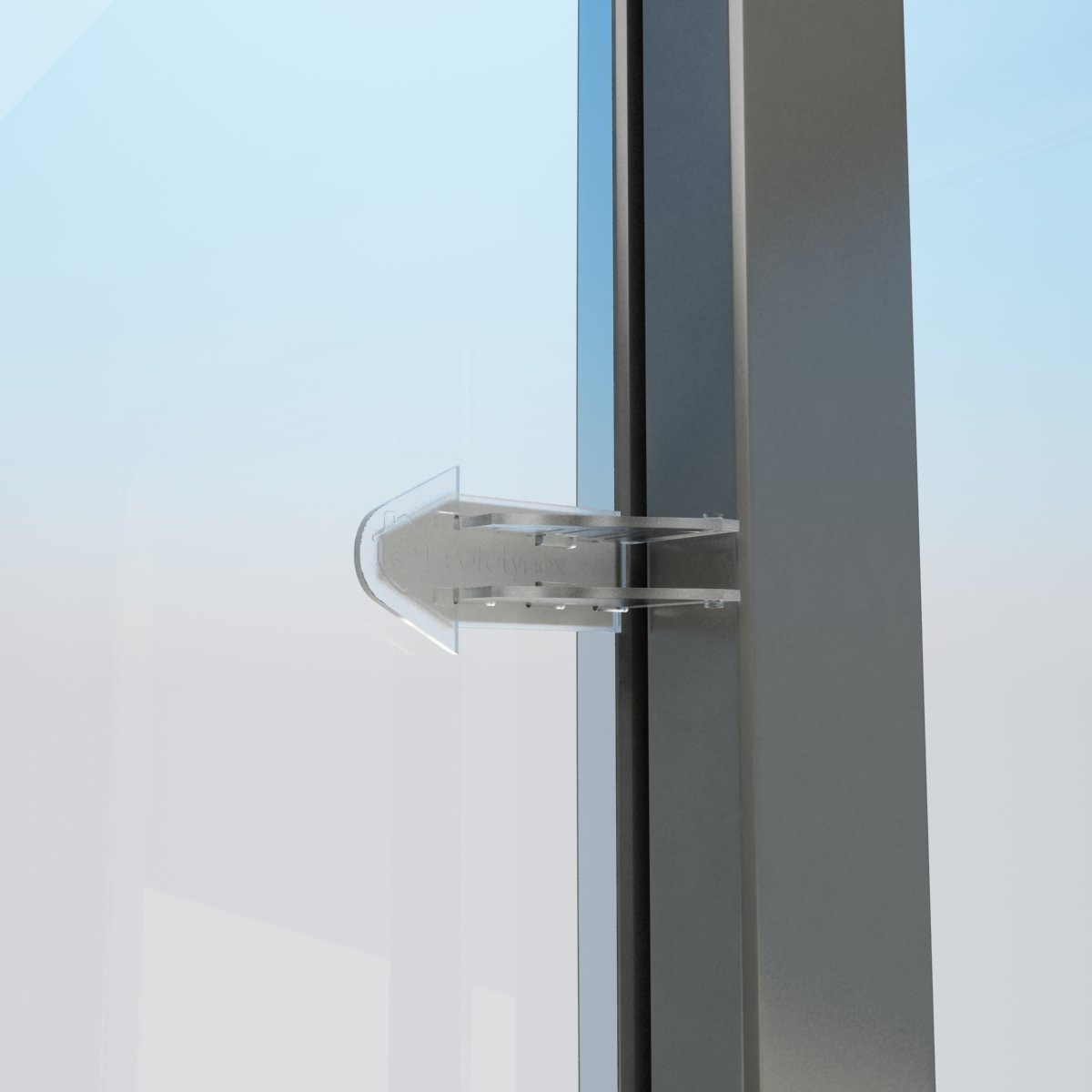Slide Lock For Glass Door: Safetynex Child Safety Sliding Door Lock For Closets