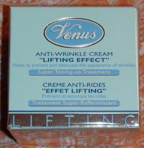 Venus Anti-Wrinkle Cream Lifting Effect Super Toning-up Treatment, 1.7 oz.
