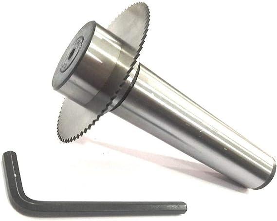 SLITTING//SLOTTING SAW HOLDER WITH CIRCULAR SAW BLADE SHANK 3MT M12 X 1.75 MM D