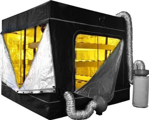 sc 1 st  Growing Dank! & Supercloset Big Buddha Box 600watt Hydroponic Grow Tent System