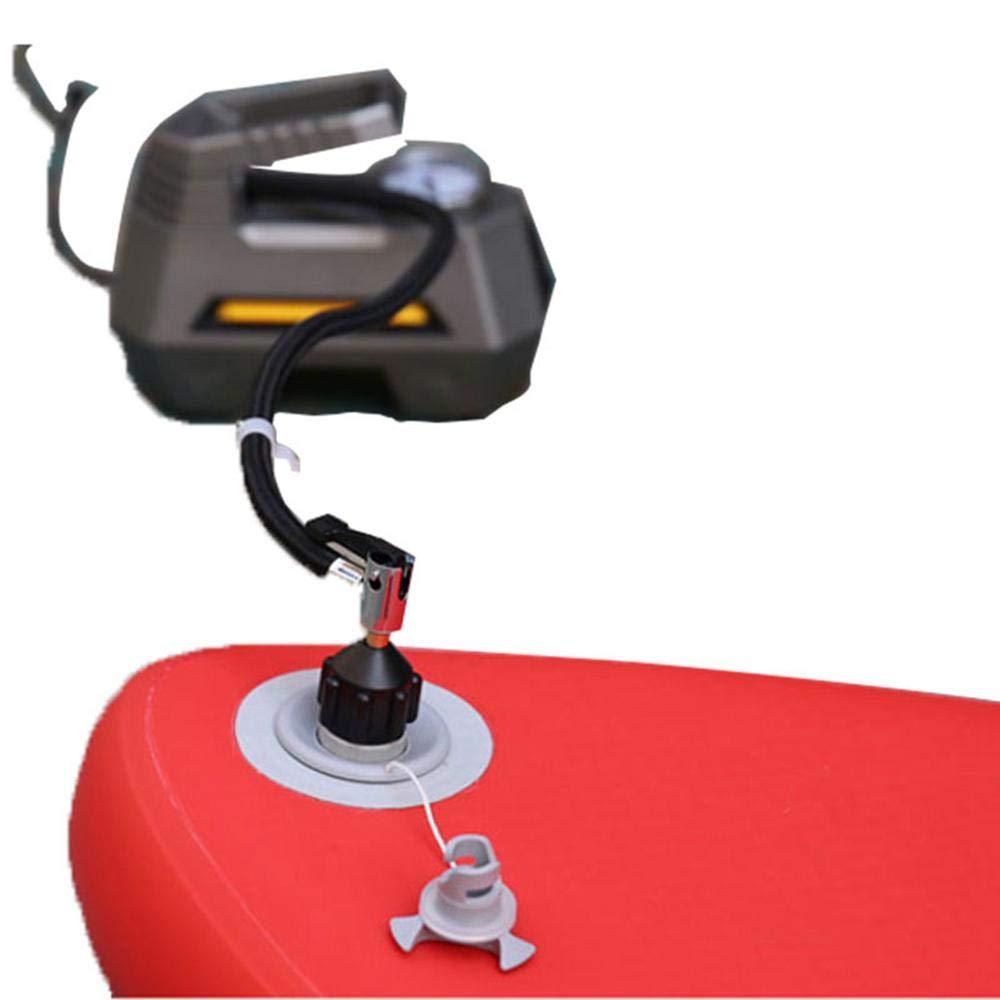 Inflable Sup Schrader v/álvula Adaptador Accesorios Bomba de Aire convertidor para Tabla de Surf Accesorio Inflable Paddle Board Kayak Hamkaw Adaptador de v/álvula de Aire