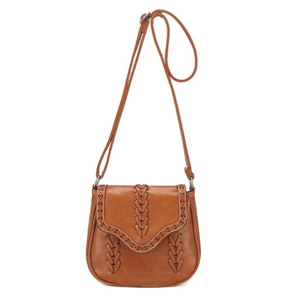 Retro Women Leather...