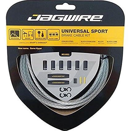 Cables de Freno para Bicicleta Blanco Blanco Jagwire Universal Sport
