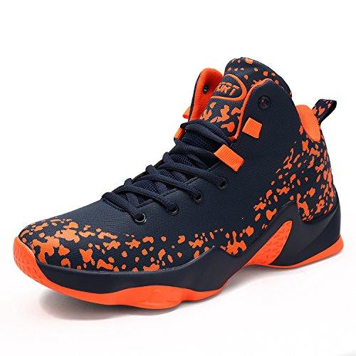 バスケットシューズ ジュニア VITIKE Basketball Shoesライトウエイト バスケットシューズ 滑り止め スポーツシューズ 耐久性のある スニーカー 快適で通気性のある スポーツ ランニングシューズ ジュニア ファッション スラムダンクメンズ
