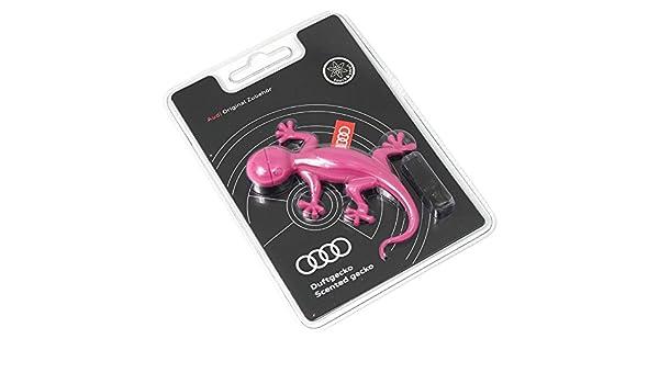 Amazon.es: Audi 000087009 AC Aroma dispensador Original Aroma Gecko Rosa Gecko Ambientador (Aroma Ordenador: Aroma de Flores de Dulce)