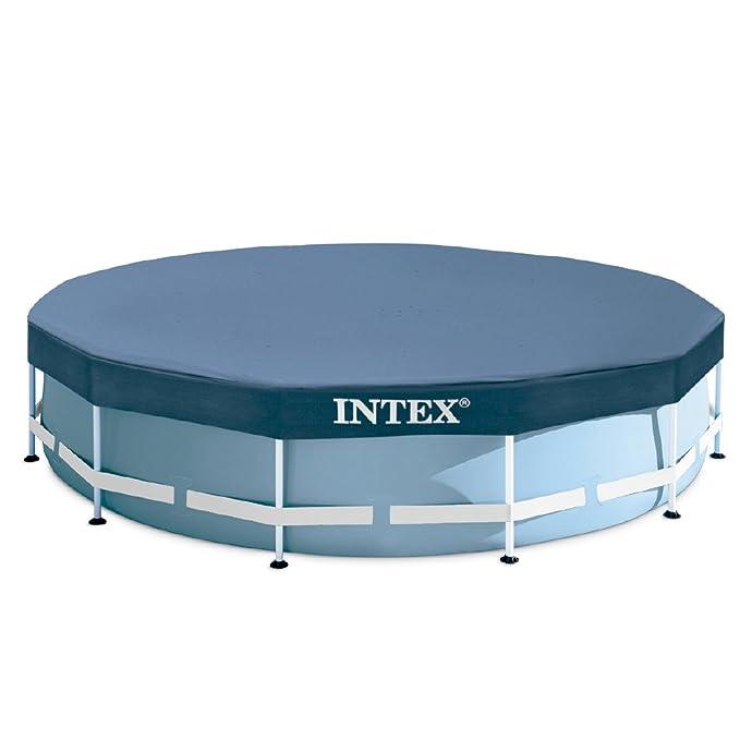 Intex Prisma Frame - Piscina desmontable, 549 x 122 cm, con depuradora y complementos (28752NP): Amazon.es: Jardín