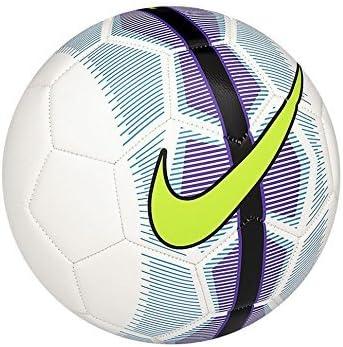 Nike Mercurial Veer - Balón Unisex, Color Blanco/Azul/Lima, Talla ...