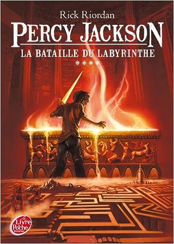 PERCY JACKSON T 04 : LA BATAILLE DU LABYRINTHE Small Version