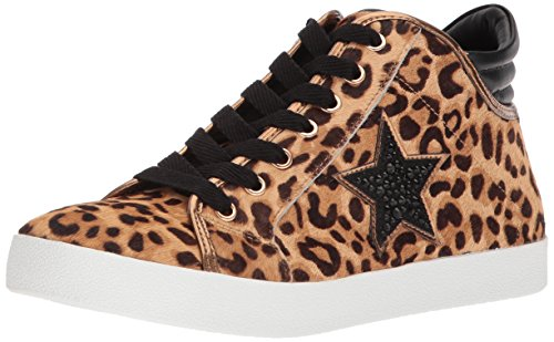 Steve Madden Women's Savior Sneaker Leopard Multi