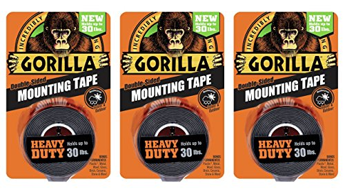 Gorilla 6055001 3 Double Sided Heavy Mounting
