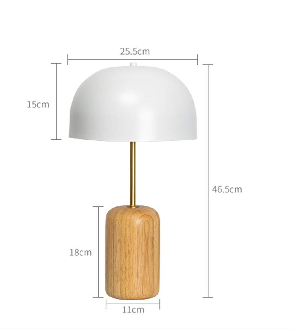 Amazon.com: PPWAN Table Lamp Bedroom Creative Personality Desk Lamp ...