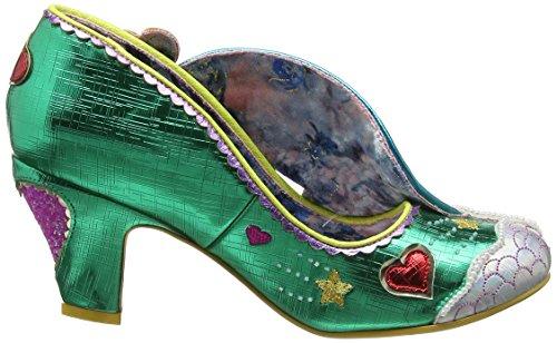 Verde Summer Love Choice B Donna Punta col Chiusa Irregular Green Tacco of Scarpe SqAwxfngRv