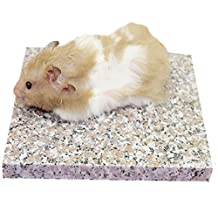 Emours Hamster Chiller Cool Granite Stone Small Animal Supplies,3.5 x 3.5 inch