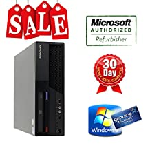 Lenovo desktop computer M58p SFF Core2duo 3.0Ghz, 4G DDR3, 160G HDD, DVD, Win 7 Home, Power Cord, 30 days warranty